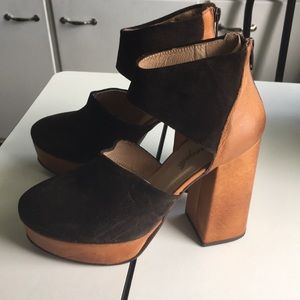 Free People heels 38